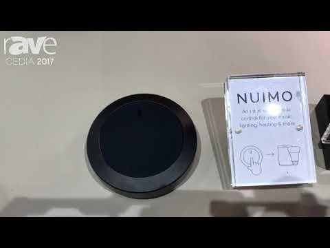 CEDIA 2017: Senic Displays NUIMO Universal Smart Control