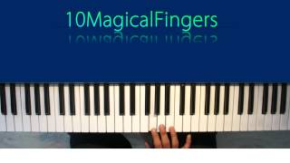 Tujh Se Naraz Nahi Piano Tutorial / Lessons (Melody, Chords and Arpeggios) 10MagicalFingers