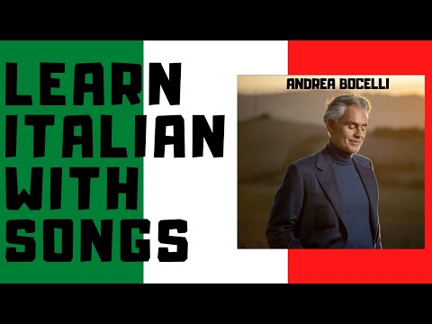 Andrea Bocelli - Time to Say Goodbye (Italian)