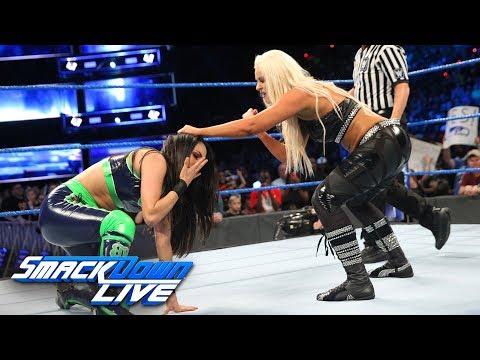Brie Bella vs. Maryse: SmackDown LIVE, Sept. 11, 2018