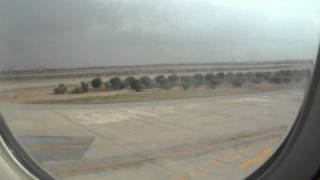 Saudi Arabian Airline Boing 777 at Karachi Airport before flying