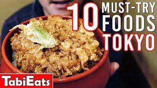 10 Must-Try Food in Tokyo Japan