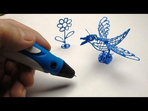 3D РУЧКА! Мои первые рисунки! Не судите строго :) Alex Boyko