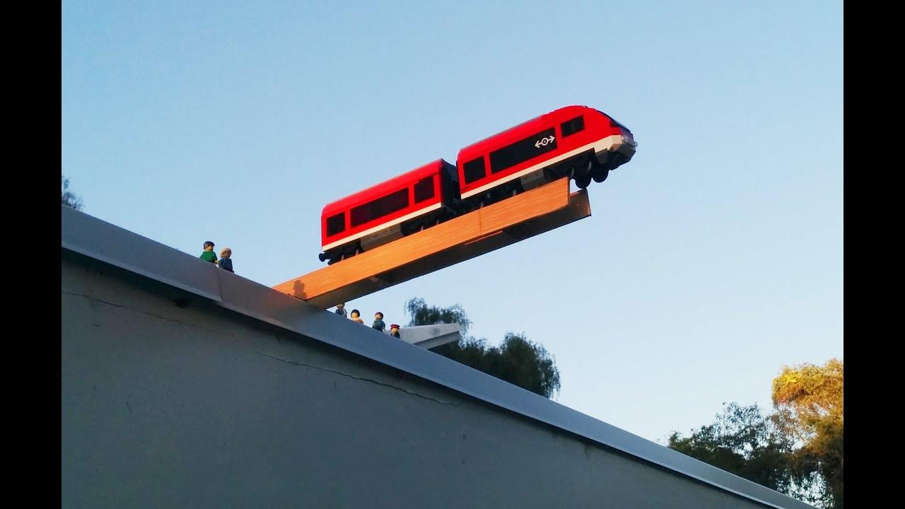 Lego City Trains 2013 Lego City Train Crash Test