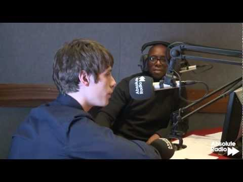 Jake Bugg chats and sings live on Absolute Radio