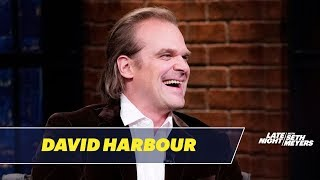 David Harbour's Theatre Troupe Received an Abysmal Review from The New York Times