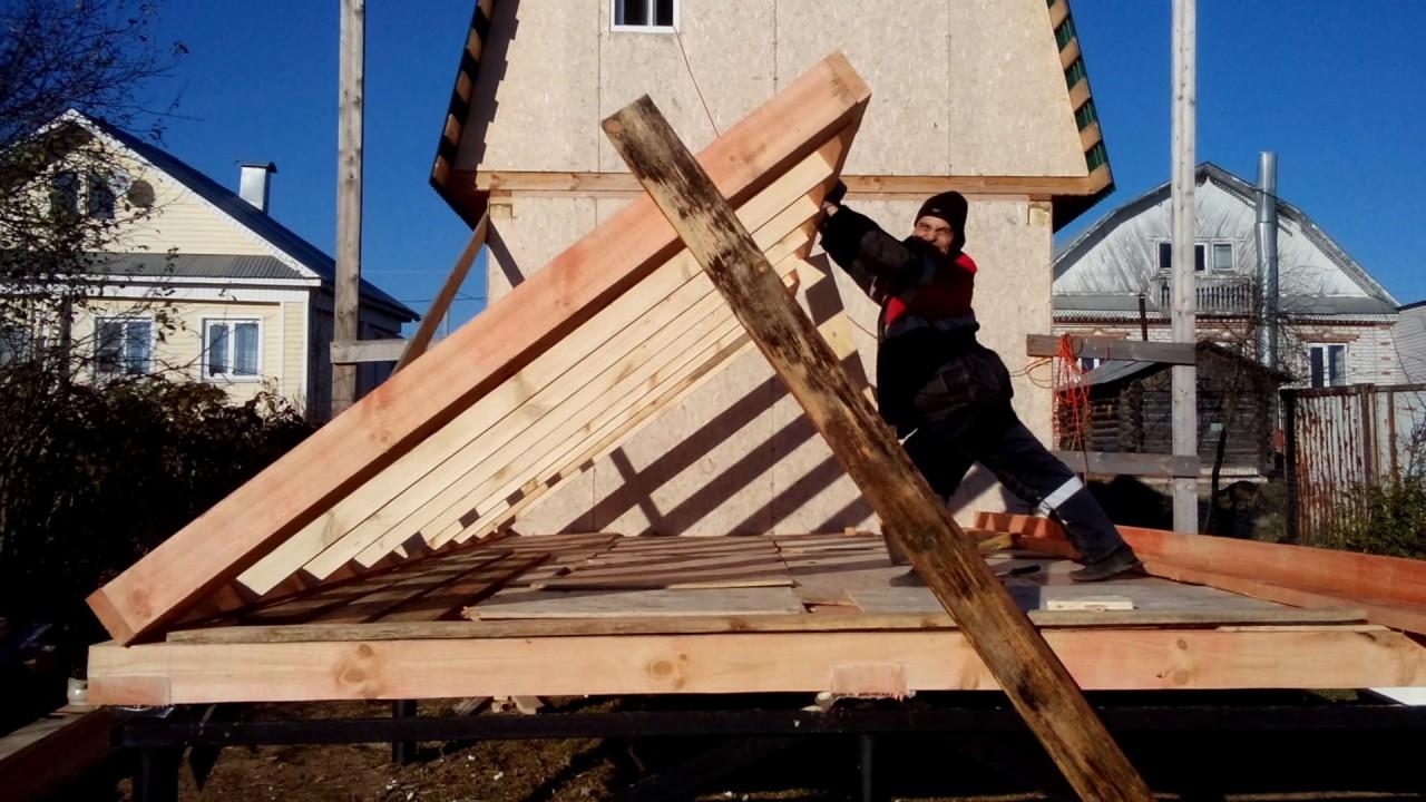 Строим дом своими руками в ютубе 966