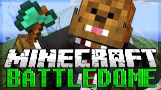 Minecraft: Battle Dome Minigame w/ Friends! Part 2