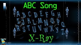 ABCD Song Skeleton Theme | Alphabet Song | A to Z for Children | 2D Animation | Kids Kiddy