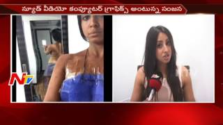 Actress Sanjana Face to Face || Clarifies that She did not Participate in Any Nud3 Scene