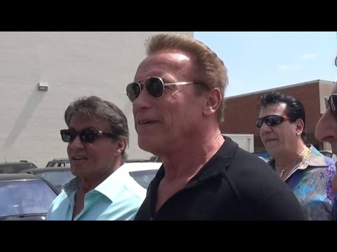 Arnold Schwarzenegger And Sylvester Stallone Say The Boxing Re-Match Should Be Them
