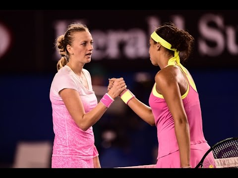 Petra Kvitova vs Madison Keys Highlights HD Australian Open 2015
