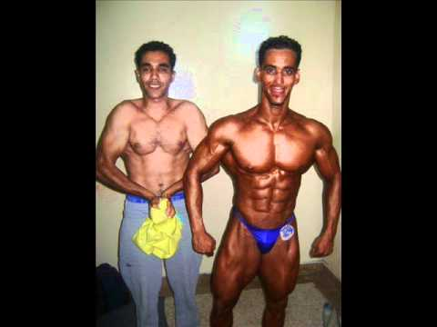 Photos remix de Brahim Dabag Champion Dagadir de Musculation