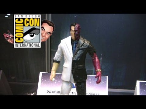 Mattel DC Batman Multiverse Figure Display at SDCC 2014