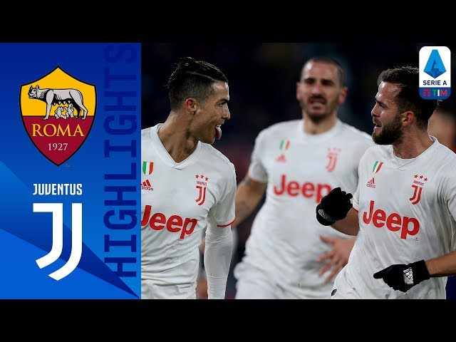 Roma 1-2 Juventus | Winter Champions! Demiral & CR7 Bring Juve Back On Top! | Serie A TIM thumbnail