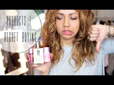 Products I Regret Buying   Beautycrush
