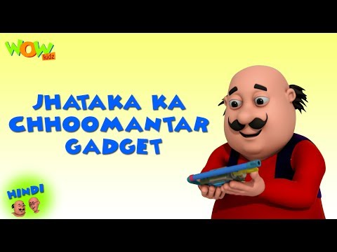 Dr Jhatka ka Choomantar Gadget - Motu Patlu in Hindi - 3D Animation Cartoon - As on Nickelodeon thumbnail
