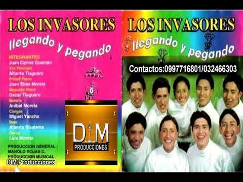LOS INVASORES de Ecuador Álbum 1