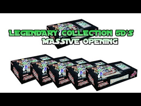 Massive Yugioh Legendary Collection 5ds Lc05 Booster Pack Opening! video