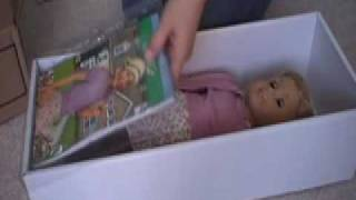 Opening My new American Girl Doll Kit!!