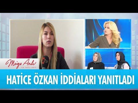 Hatice Özkan canlı yayında iddiaları yanıtlıyor - Müge Anlı İle Tatlı Sert 3 Kasım