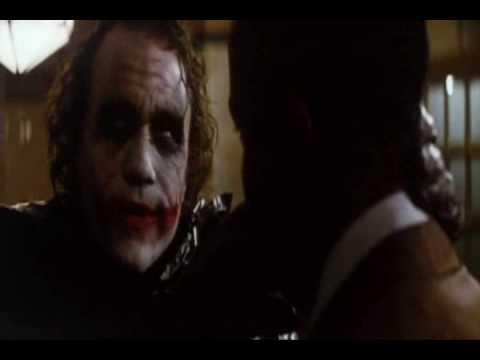 The Joker - Why so Serious? (Full Scene) HD - YouTube