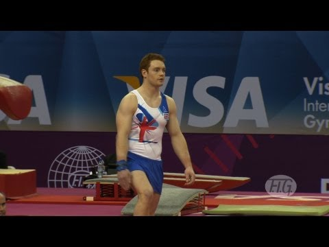 Olympic Qualifications London 2012 -- Daniel PURVIS (GBR)- FX