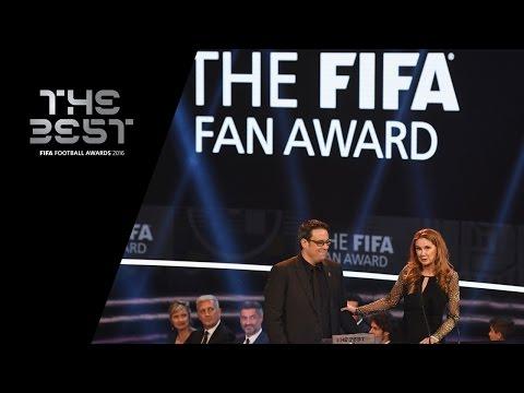 THE FIFA FAN AWARD 2016 -  Borussia Dortmund and Liverpool Supporters