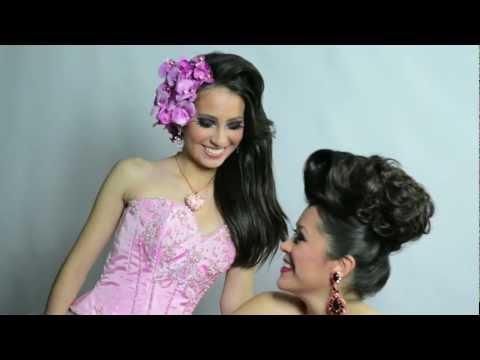 Quinceañera Magazine Cover Girl Photoshoot