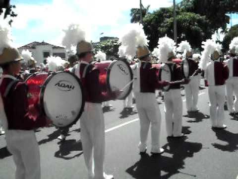 DRUM BRASS CORP'S CASTRO ALVES desfile 7 setembro 2010