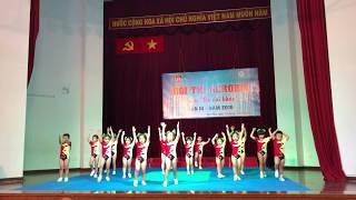 Aerobic Đất Nam - hội thi aerobic mầm non mẫu giáo quận Tân Phú 2019 -chú ếch con