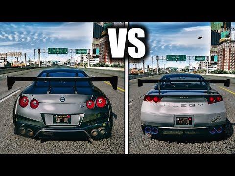 GTA V Cars VS REAL Cars   ULTRA Realistic GRAPHICS MOD GAMEPLAY