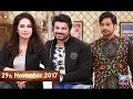 Salam Zindagi With Faysal Qureshi - Hajra khan & Sohail Sameer - 29th November 2017