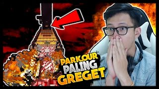 GILE PARKOUR PALING GREGET DI MINECRAFT ! - Minecraft Parkour Indonesia