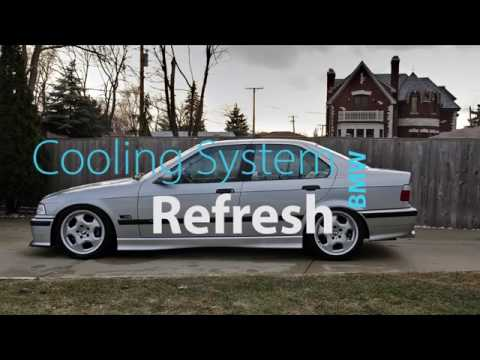 BMW Cooling System Refresh - Water Pump. Belts. Pulleys. Coolant Flush and Bleed
