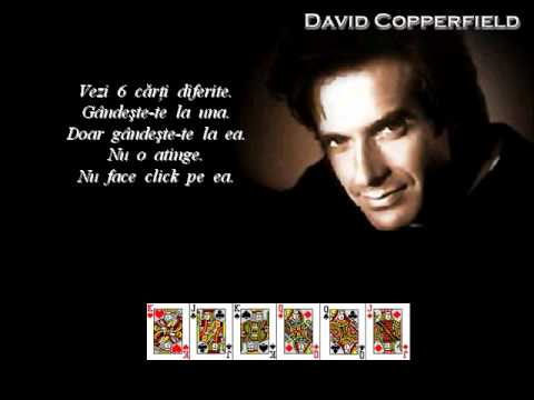 DAVID COPPERFIELD - O ILUZIE