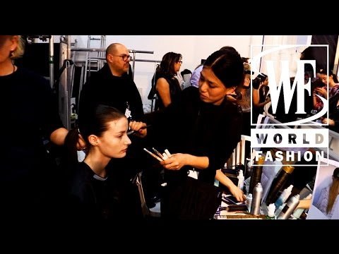 Backstage Allude Spring-Summer 2015 Paris Fashion Week