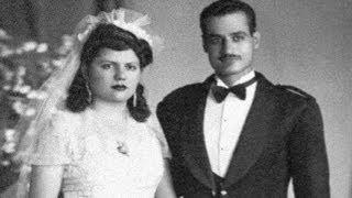 شاهد الرئيس جمال عبد الناصر فى بدلة الفرح مع زوجته تحية كاظم وصور أخرى نادرة