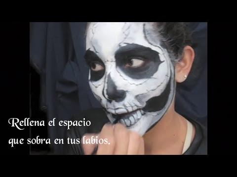 Maquillaje: Cráneo Expuesto