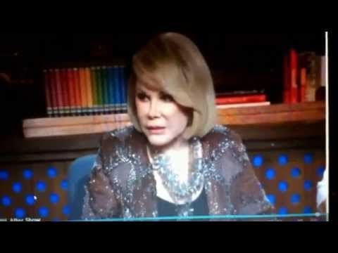Joan Rivers & Maksim Chmerkovskiy on WWHL! After Show