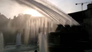 Palais de Chaillot - water fountain - Tour Eiffel 02.10.13