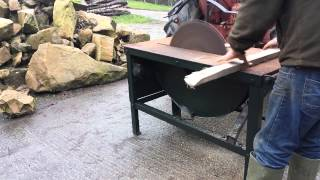 Huxtable saw bench