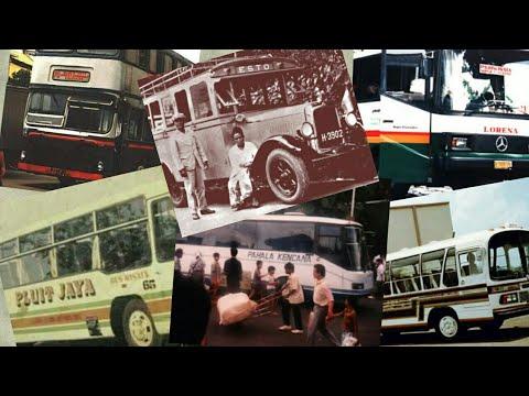 Bus jadul indonesia