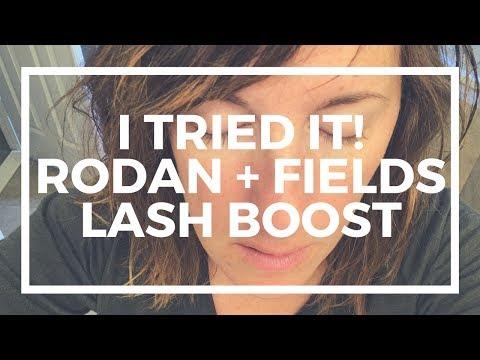 I TRIED IT: Rodan + Fields Lash Boost