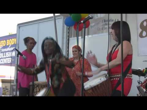 Live Ethnic And West African Music From All Female Group ADAA! (Full Length)