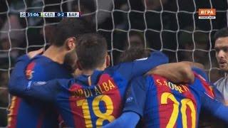 Celtic FC 0-2 FC Barcelona | Özet, Tüm Goller | Messi 2 Gol | Şampiyonlar Ligi, 23 Kasım 2016 • HD