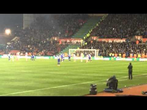 Leighton Baines Penalty vs Stoke