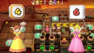 Super Mario Party: Girls Vs Boys in Gold Rush Mine (Master CPU)