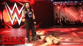Roman Reigns and Rusev agree to meet inside Hell in a Cell Raw Oct 3 2016