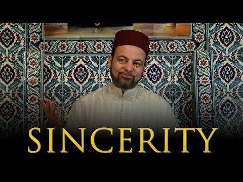Sincerity & Following